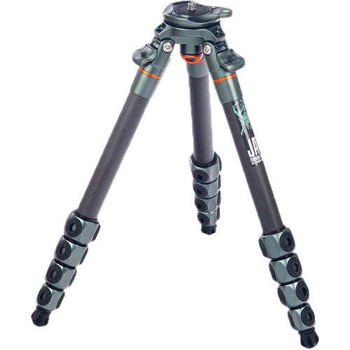 3 Legged Thing Jay Carbon Fiber Travel Tripod Legs with Quick Leveling Base