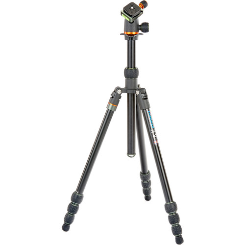 3 Legged Thing Travis Aluminum Travel Tripod with AirHed Neo Ball Head (Black)