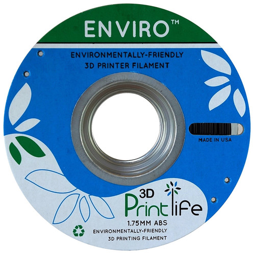 3D Printlife Enviro 1.75mm ABS 3D Printer Filament (Black)