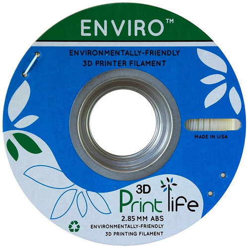 3D Printlife Enviro 2.85mm ABS 3D Printer Filament (Natural)