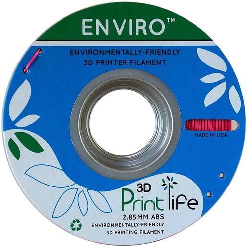 3D Printlife Enviro 2.85mm ABS 3D Printer Filament (Pink)