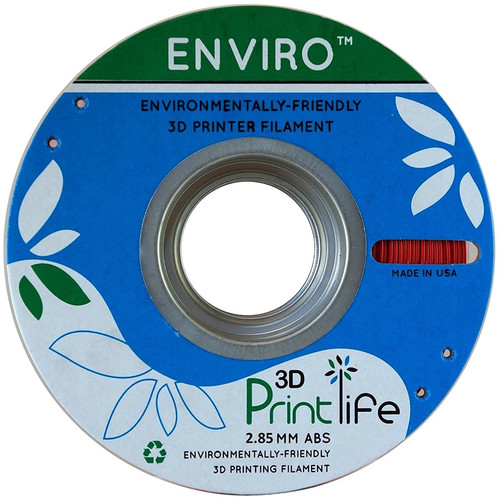 3D Printlife Enviro 2.85mm ABS 3D Printer Filament (Red)