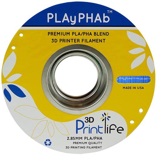 3D Printlife PLAyPHAb 2.85mm PLA/PHA Filament (Blue)