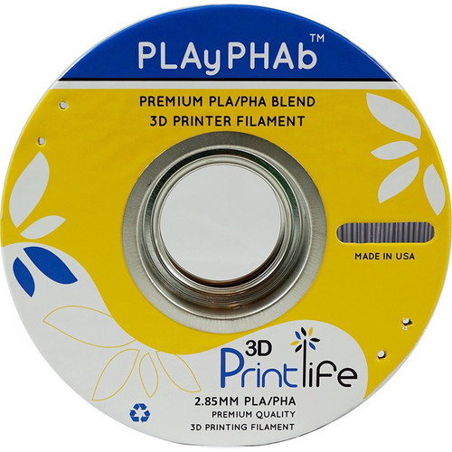 3D Printlife PLAyPHAb 2.85mm PLA/PHA Filament (Carbon)