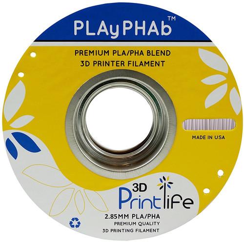 3D Printlife PLAyPHAb 2.85mm PLA/PHA Filament (Gray)
