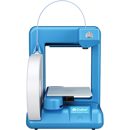3D Systems Cube 3D Printer (2nd Gen, Blue)