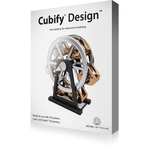 3D Systems Cubify Design Software (License Code, English Version)