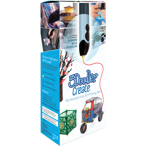 3Doodler Create 3D Printing Pen Set (Power Blue)