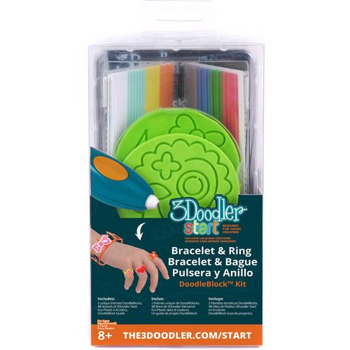 3Doodler Start DoodleBlock Kit (Jewelry Set)