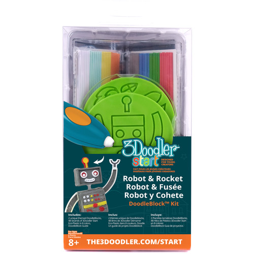 3Doodler Start DoodleBlock Kit (Rocket / Robot Set)
