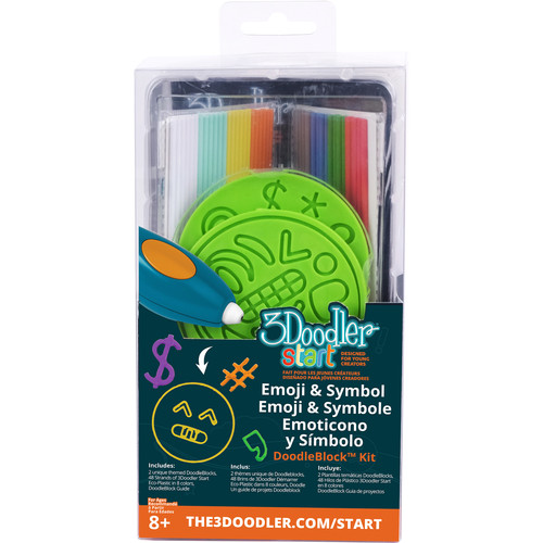 3Doodler Start DoodleBlock Kit (Emoji / Symbol Set)