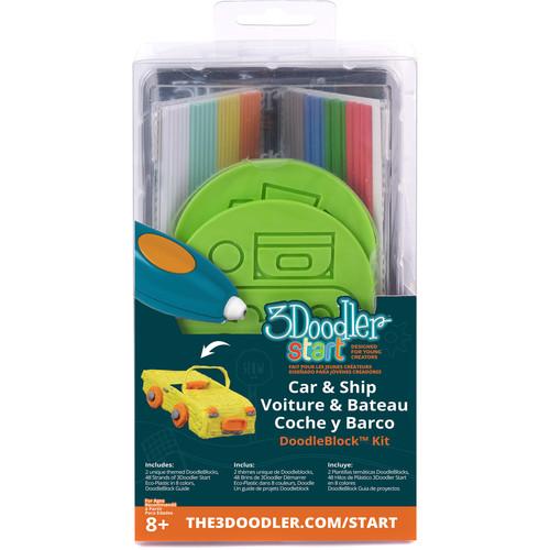 3Doodler Start DoodleBlock Kit (Vehicle Set)