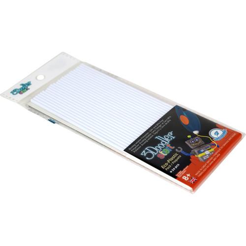 3Doodler Start Single Color Plastic Pack (Simply White)