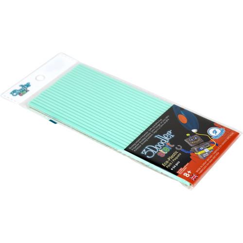 3Doodler Start Single Color Plastic Pack (Aqua Mint, 24 Strands)