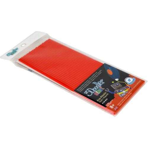 3Doodler Start Single Color Plastic Pack (Cherry Red, 24 Strands)
