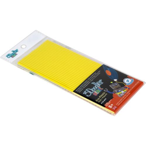 3Doodler Start Single Color Plastic Pack (Lemon Zest, 24 Strands)