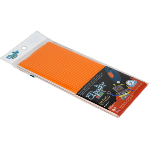 3Doodler Start Single Color Plastic Pack (Tangerine Tang, 24 Strands)