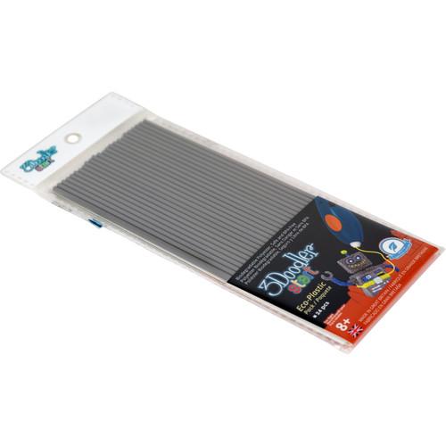 3Doodler Start Single Color Plastic Pack (Koala Gray, 24 Strands)
