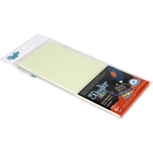 3Doodler Start Single Color Plastic Pack (Ghostly Glow, 24 Strands)