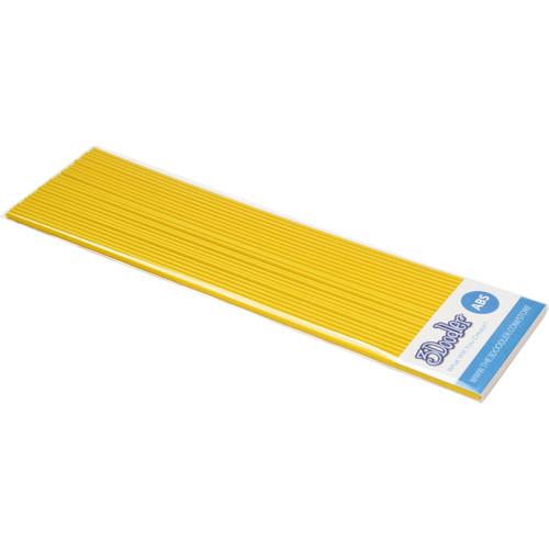 3Doodler ABS Plastic Filament Strands for the 3Doodler (Sunnyside Yellow, 25 Strands)