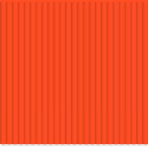 3Doodler ABS Single Color Plastic Pack (Highlighter Orange, 100 Strands)