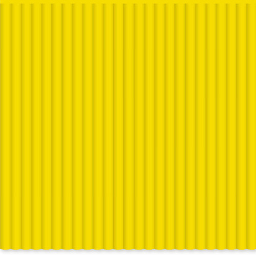 3Doodler FLEXY Single Color Plastic Pack (Yellow, 25 Strands)