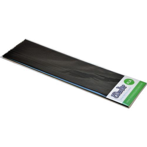 3Doodler PLA Single Color Plastic Pack (Tuxedo Black, 25 Strands)