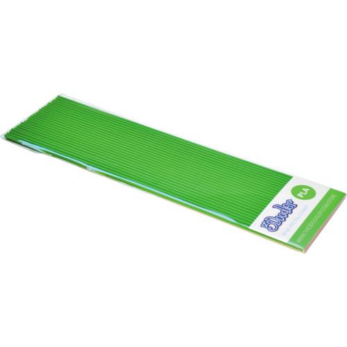 3Doodler PLA Single Color Plastic Pack (Greener Grass, 25 Strands)