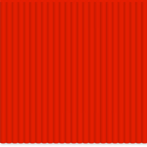 3Doodler PLA Single Color Plastic Pack (Chili Pepper Red, 100 Strands)