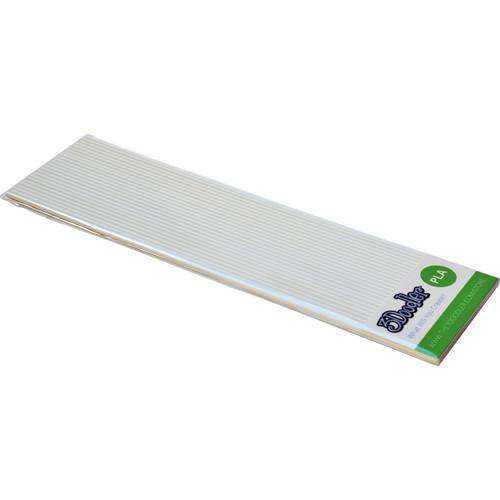 3Doodler PLA Single Color Plastic Pack (Snow White, 25 Strands)