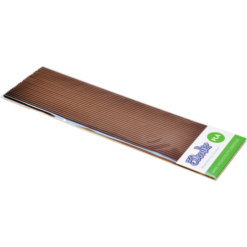 3Doodler PLA Single Color Plastic Pack (Brownie Brown, 25 Strands)