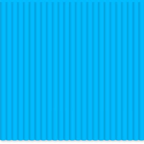 3Doodler PLA Single Color Plastic Pack (Island Blue, 100 Strands)