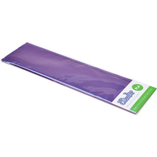 3Doodler PLA Single Color Plastic Pack (Perfectly Purple, 25 Strands)