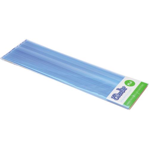 3Doodler PLA Single Color Plastic Pack (Clearly Blue, 25 Strands)
