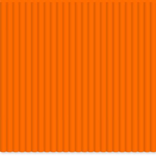 3Doodler PLA Single Color Plastic Pack (OJ Orange, 100 Strands)