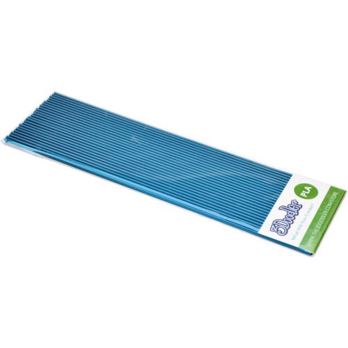 3Doodler PLA Single Color Plastic Pack (Blue Steel, 25 Strands)