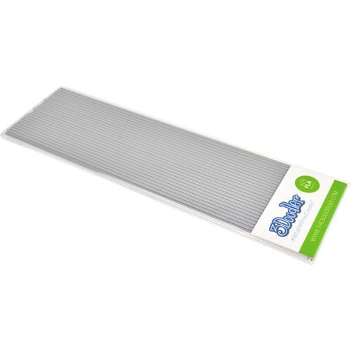 3Doodler PLA Single Color Plastic Pack (Foggy Day Grey, 25 Strands)