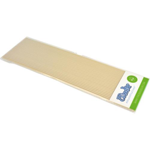 3Doodler PLA Single Color Plastic Pack (Cafè au Lait, 25 Strands)