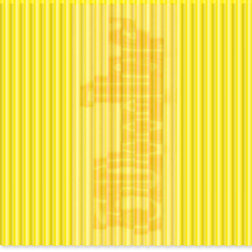 3Doodler PLA Single Color Plastic Pack (Clearly Yellow, 100 Strands)