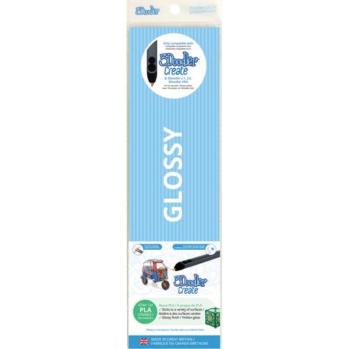 3Doodler PLA Single Color Plastic Pack (Baby Blue, 25 Strands)