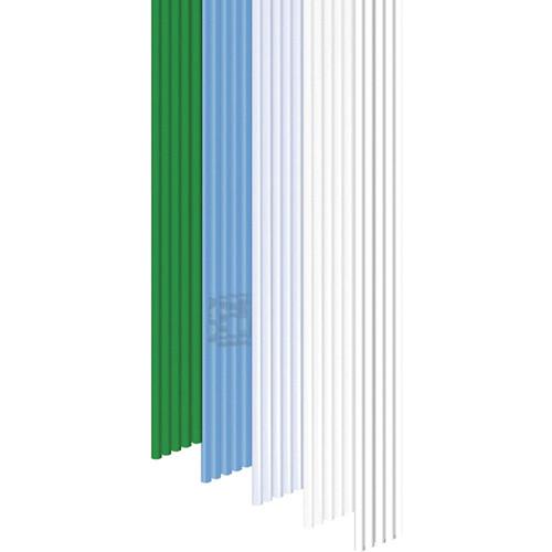 3Doodler PLA Mixed Color Filament Pack (Winter Wonderland, 25 Strands)
