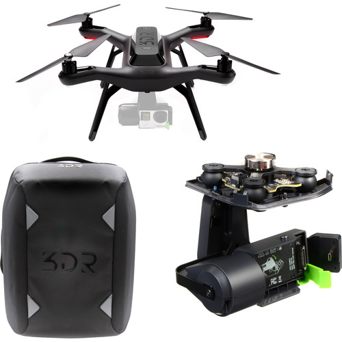 3DR 3DR Solo Quadcopter Kit with 3-Axis Gimbal and Backpack