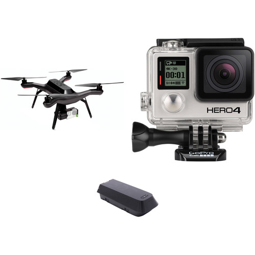 3DR Solo Quadcopter Kit with 3-Axis Gimbal & GoPro HERO4 Black