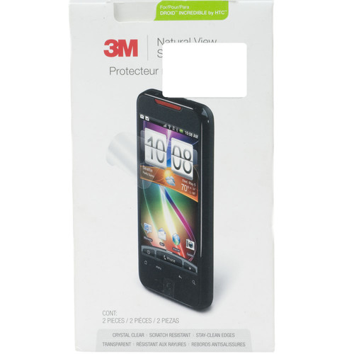 3M 3M 98044051591 Natural View Screen Protector - For HTC Droid 2