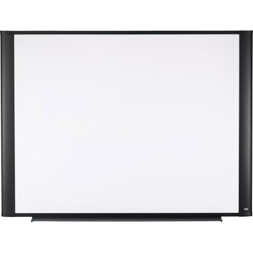 "3M M3624G 36 x 24"" Melamine Dry Erase Board (Graphite Finish Frame)"