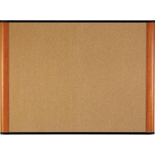 "3M C4836LC 48 x 36"" Cork Board (Light Cherry Finish Frame)"