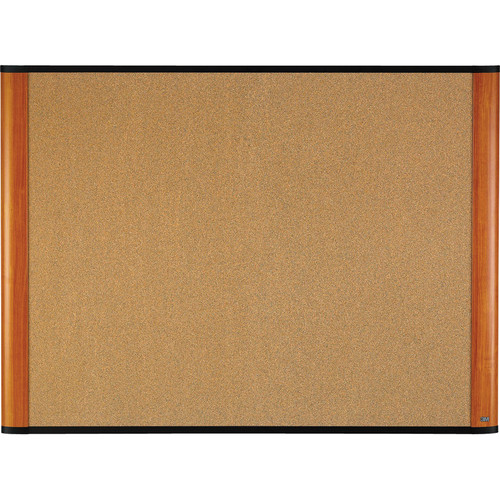 "3M C7248LC 72 x 48"" Cork Board (Light Cherry Finish Frame)"