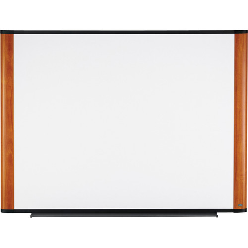 3M M4836LC Melamine Dry Erase Board (Light Cherry Finish Frame)