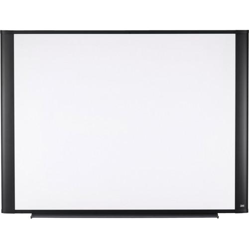 "3M M7248G 72 x 48"" Melamine Dry Erase Board (Graphite Finish Frame)"