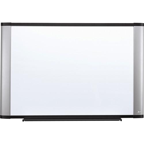 """3M M9648A 96 x 48"""" Melamine Dry Erase Board (Aluminum Frame, Contemporary Design)"""